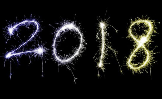 السنة الجديدة 2018
