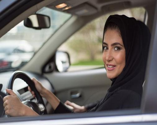 قيادة السيارة السعودية