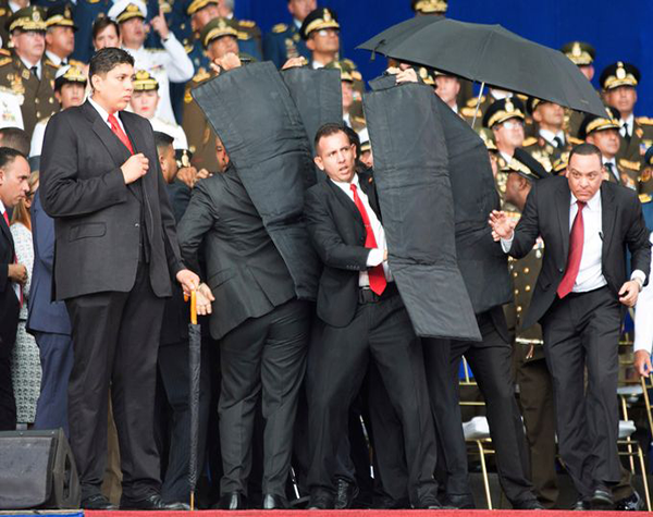 برودة أعصاب حارس مادورو