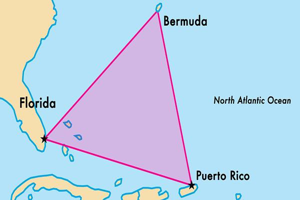موقع مثلث برمودا