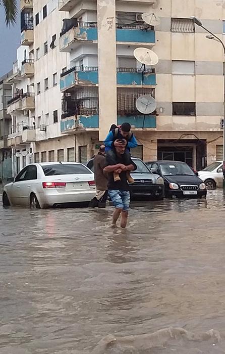 أمطار غزيرة ليبيا