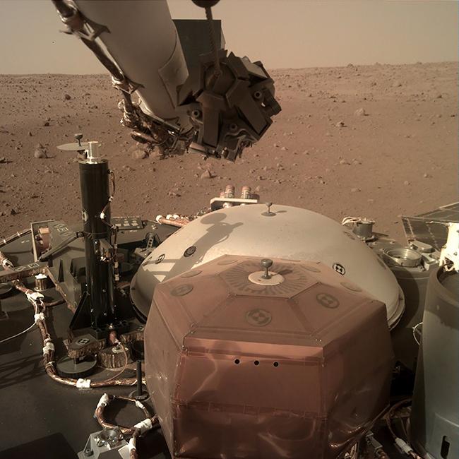سطح المريخ