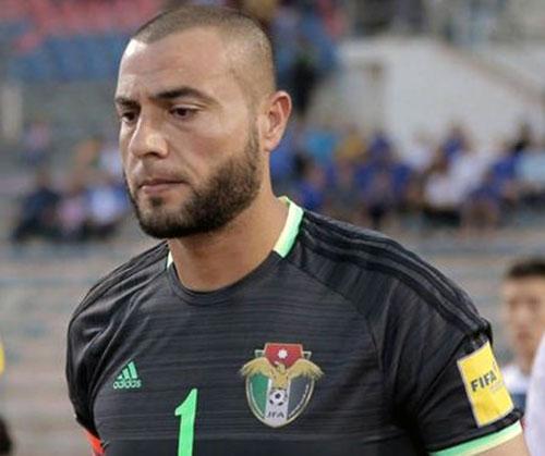 حارس الأردن عامر شفيع