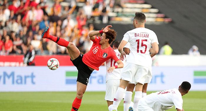 قطر كوريا الجنوبية كأس اسيا