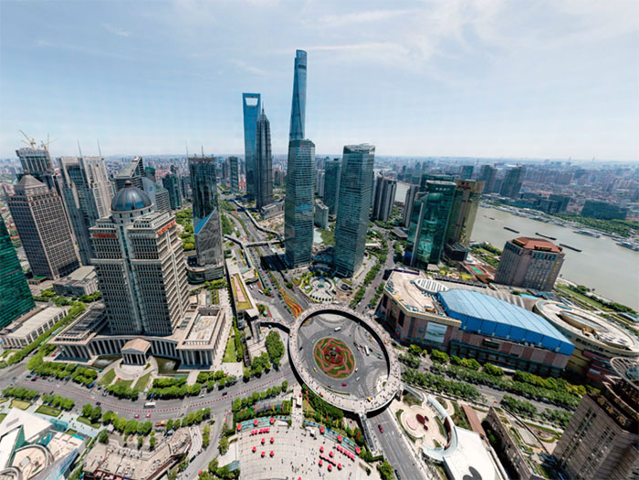 شنغهاي بتقنية تصوير 200 مليار بكسل