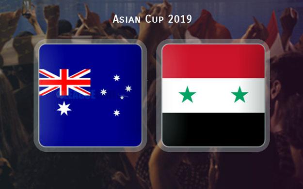 سوريا-استراليا كأس اسيا2019
