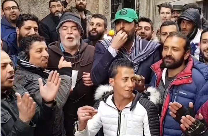 باسم ياخور ونزار أبو حجرعلى طابور الغاز