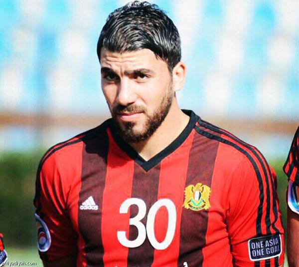 اللاعب السوري يوسف قلفا