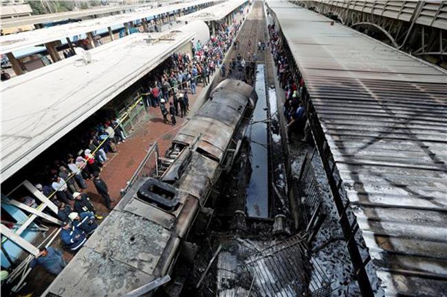 حادث انفجار القطار في القاهرة