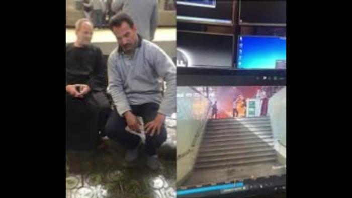 وليد مرضي بطل الانقاذ في حادث القطار في القاهرة
