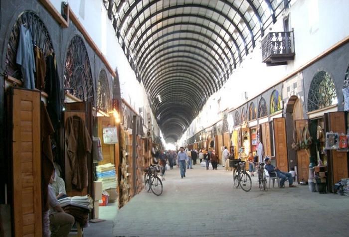 سوق دمشقي