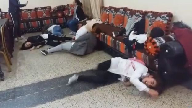 اصابة تلميذات بحالة هستريا في المغرب