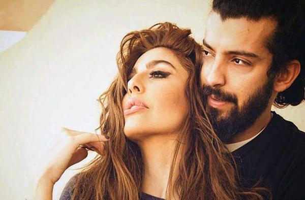ليلى اسكندر وزوجها
