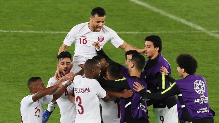 قطر بطلة اسيا 2019