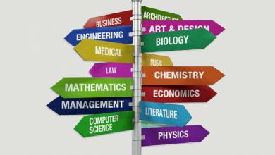 التخصصات بعد الثانوية العامة