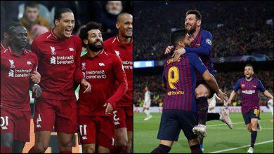 ليفربول ضد برشلونة