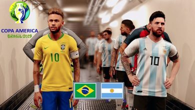البرازيل و الأرجنتين في نصف نهائي كوبا اميركاي