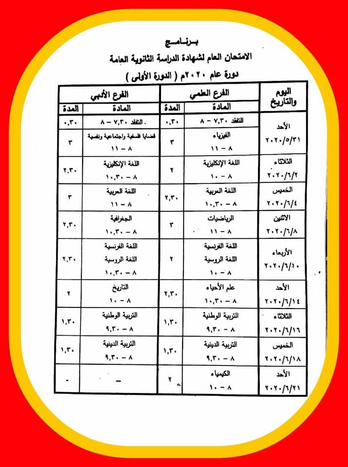كتب الثانوية المهنية في سوريا